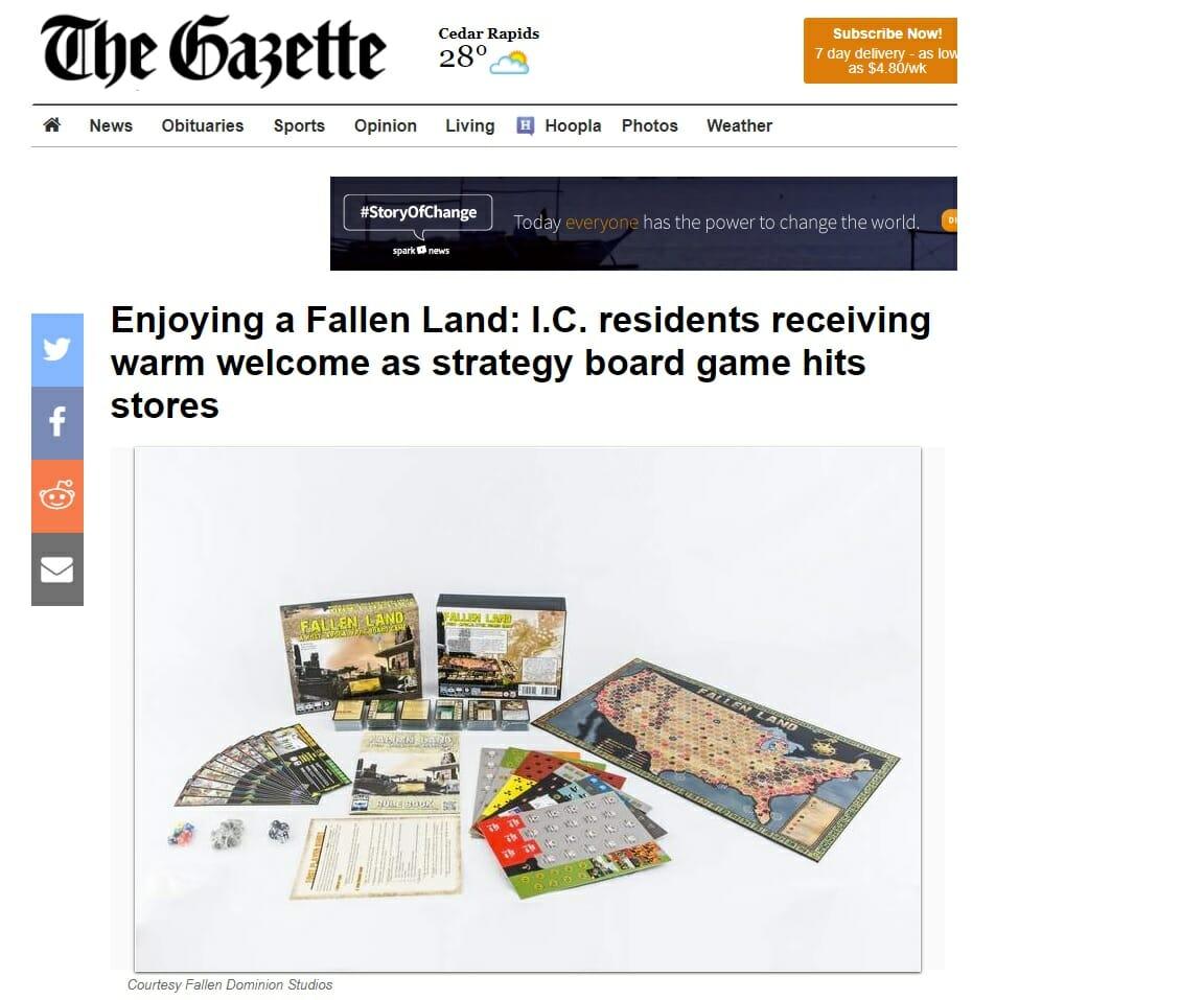 Cedar Rapids Gazette pic