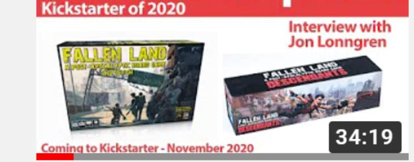 Interview for Kickstarter Radio102.4 Most Anticipated Kickstarter 2020
